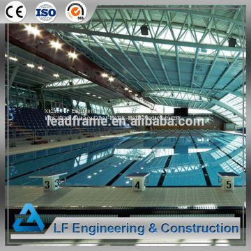 China Prefabricated Space Frame Swimming Pool Roof