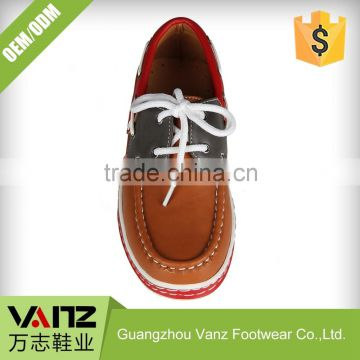 Lace Up Teenagers Quality Assured Pu Boat Shoes