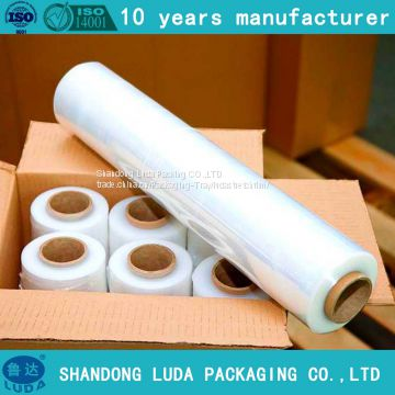 handmade various packaging Stretch wrap film production process