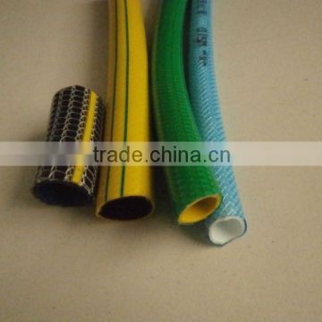 4-Layer Knitted Kink Plus PVC Garden Water Hose With Non-Torsion Fiber Reinforcement Layer