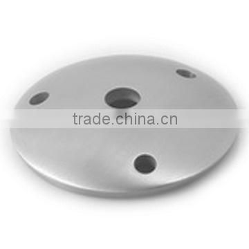 SS/Stainless steel Round Base Plate With Three Holes