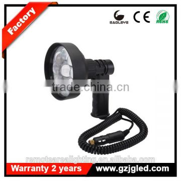 Guangzhou night hunting torch light handheld 27w led super bright outdoor lighting