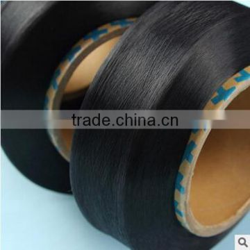 Factory prices high grade 100% elastic black spandex yarn 40D for producing pantyhose