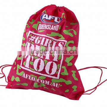 Top quality New recycle 210D polyester foldable backpack