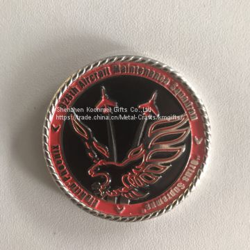 Customized logo cgallenge coin