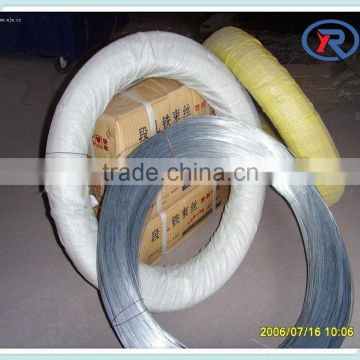 China supplier electro or hot dipped galvanized iron wire 22#