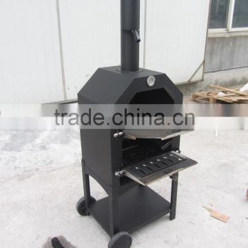 wood power source used pizza oven outdoor