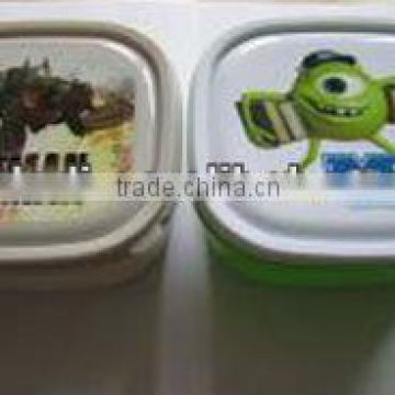 Hot selling plastic PP mignon Children lunch box                                                                         Quality Choice