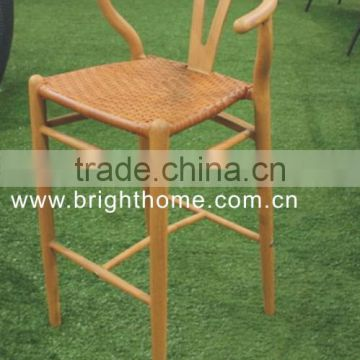 Plastic Bar Chair with Footrest