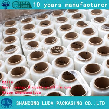 transparent handmade packaging stretch wrap film supply