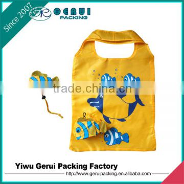 Ice cream shape good quality cheap ice cream shape foldable polyester bag