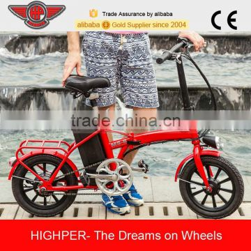 250W Cheap Small Folding Electric Bike, Cheap Electric Bicycle with EN15194 (EF01S-3)