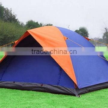 Outdoor Silver Tape 180T Waterproof Mesh 2 Person Camping Tent