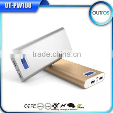 Portable Charger Alibaba China Mobile Battery Charger with LCD Display Screen