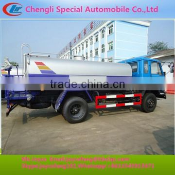 8000-10000liters Stainless Steel Jetting Water Trucks Manufacturer