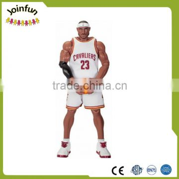 famous basketball action figure,NBA plastic figure action figure,basketball star action figure