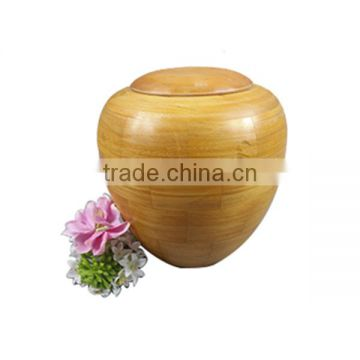 European bottle style cremation Urn funeral Wooden Ashes Urn