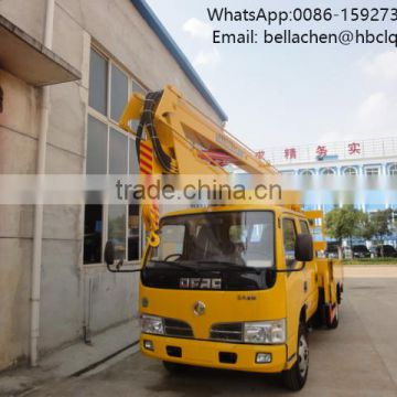 For Road Light Maintenance Aerial Working Truck 11m High Lifting Platform Truck