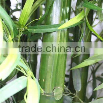 Home garden dry decoration 250cm Height artificial outdoor green lucky Bamboo EZZ06 0202