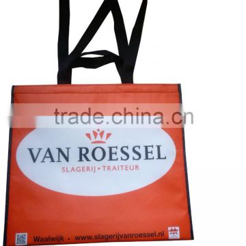 Eco friendly non woven material and food use cheap promotional non woven cooler bag