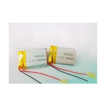 3.7V 300mAh Battery 320mAh 330mAh Rechargeable Lithium Polymer Battery for Electric Caculator Lipo Battery