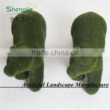 new style artificial topiary animal for christmas day decoration