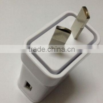 5v2a australia single port AU wall usb travel charger power adapter