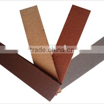 Hot sale purple split clay brick, exterior wall tiles