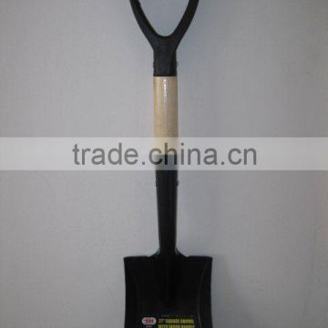 27'' SQUARE SHOVEL WITH WOOD HANDLE