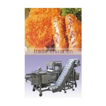 Automatic Chicken Nuggets (Colonels Crispy Strips, Mcnugget, Chick Strip) Processing Line