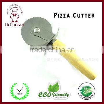 Pizza Cutter with Wooden Handle pizza cutter pizza wheel cutter