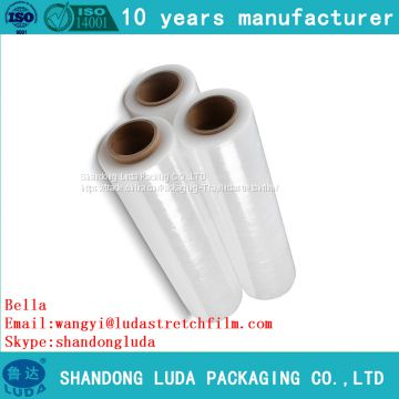handmade LLDPE packaging stretch film roll supply