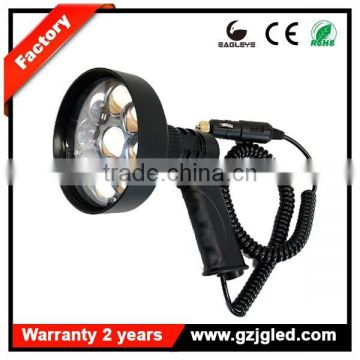 Easy carrying 3000 Lumens LED Handheld Vehicle Hunting Spot Torch Camping Work Fishing Light 12V