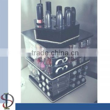 Acrylic Rotating Lipstick Display Stand