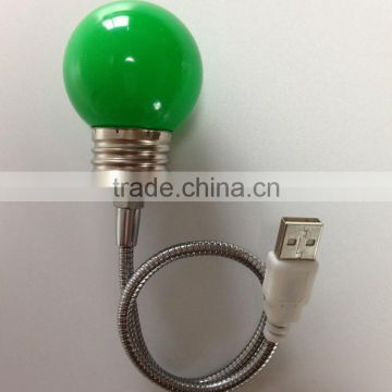 led bulb lamp USB desk lamp flexiable led desk lamp USB light led bulb lamp