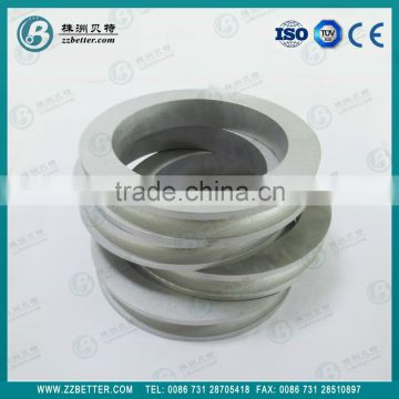 Cemented carbide roll rings