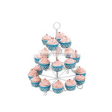 Cupcake Stand for Birthdays and Other Occations 3 Tier Cupcake Holder for 24 Cupcakes and Desserts