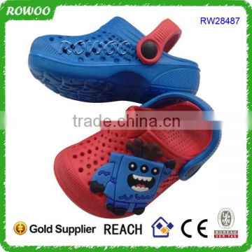 Good quality cute hot sale kids durable garden shoes clog various colors for boys and girls