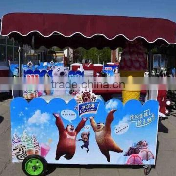 Best Designed ice cream trailers/multi-function mobile food Van/mobile food car for sale /mobile ice cream cart