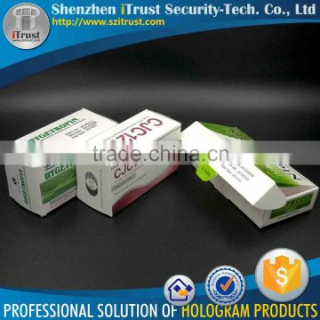 Wholesale Cheap 3D holographic UV offset printed condom packing box