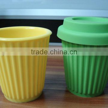promotional chatter marks colorful silicone mug