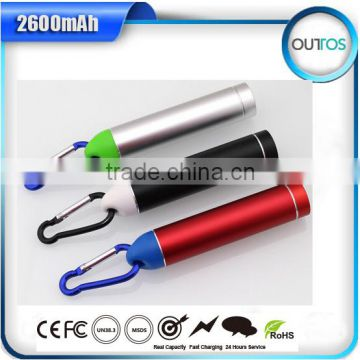 2600mah Portable Powerbank for chirstmas,paypal accepted