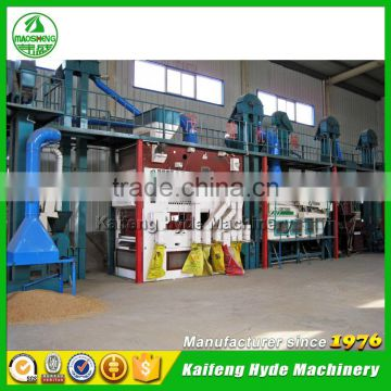 10T Wheat grain cleaning machines for harvest grain plant