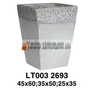 Vietnamese Ceramic Pottery/High Quality Decorative Outdoor Ancient Tidi Pottery 2693