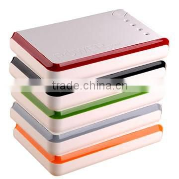 High Quality Colourful 11000mAh mobile phone charger