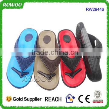 Popular EVA Soft Slippers Casual Men Beach Sandals Outdoor Flip Flops