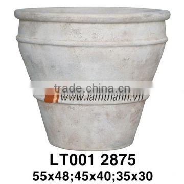 Vietnam Simple Large Painted Terracotta Pottery For Manufacturer