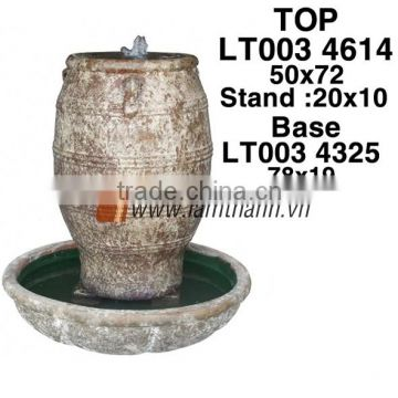East Asia Curved High Quality Ceramic Water Fountain For Wholesalers