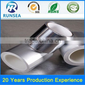 china heat resistant aluminum foil tape self adhesive aluminum tape double self adhesive aluminum foil tape