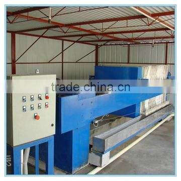 China PLC Control Automatic Filter Press Price